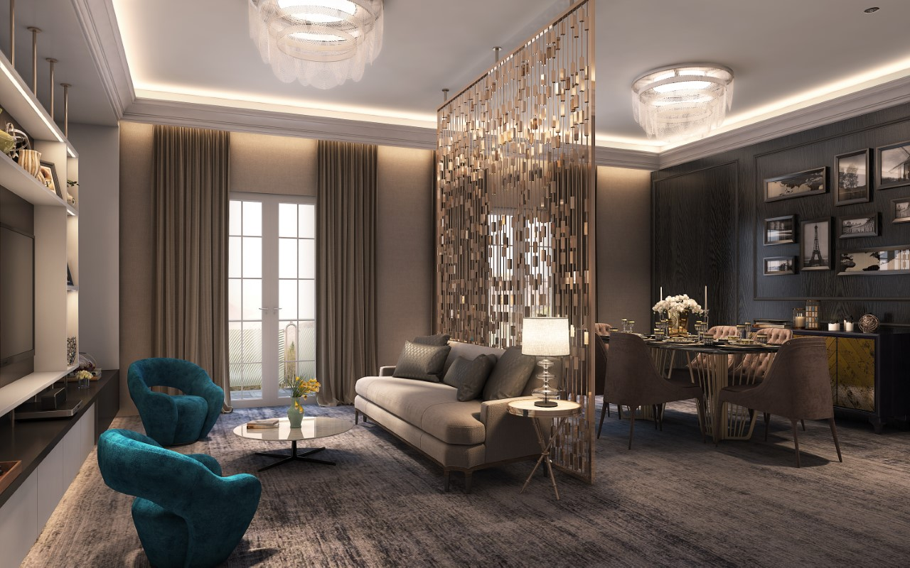Hospitality Interiors Services 3D Visualization | SKETS studio